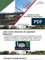 elementos de protección industrial