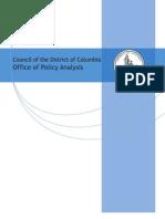OPA Education Report No. 17-01