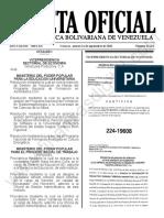 Gaceta Oficial N°42.212