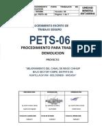 PETS - 06 TRABAJOS DE DEMOLICION