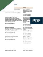 list of chemcial companies
