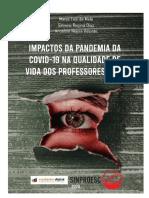 Impactos Da Pandemia Da COVID-19 Na Qualidade de Vida Dos Professores de SC