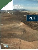 Caliifornia Geology Magazine Jan-Feb 1993
