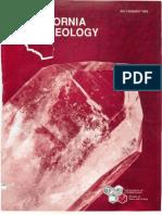Caliifornia Geology Magazine Jul-Aug 1993
