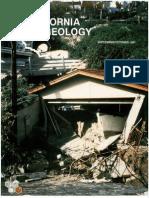 Caliifornia Geology Magazine Sep-Oct 1993
