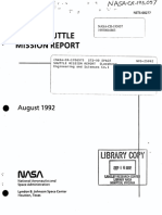 STS-50 Space Shuttle Mission Report