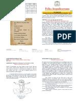 Folha Arquidiocesana N.37 - Páscoa