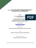 Informaciòn Para Preparar Estados Financieros Presupuestados