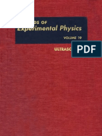 0124759610 Experimental Physics- Ultrasonic