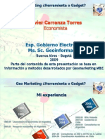 Geo Marketing ¿Herramienta o Gadget?