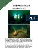 7 Most Fascinating Underwater Ruins
