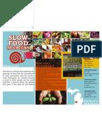 Slow Food Brochure 2