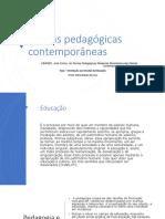 Aula - Teorias pedagogicas Libaneo