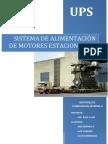 Sistema de alimentación de Motores estacionarios