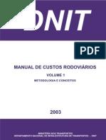 ECV5134 - Manual de custos rodoviários 2003