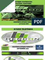 Estudio Estado Yaracuy Septiembre 2021