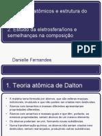 Modelos atômicos e estudo da eletrosfera