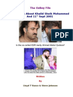 The Truth About Khalid Sheik Mohammed and 11th Sept 2001