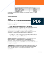 TALLER PLANEACIÓN DE LA CAPACITACIÓN GUIA # 14