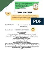 Creer y No Creer