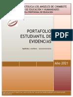 Esquema de Portafolio 2021