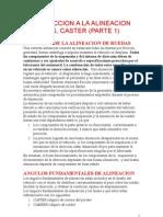 INTRODUCCION A LA ALINEACION DE AUTOS, CASTER (PARTE 1)