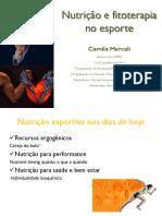 Nutrição e Fitoterapia No Esporte