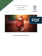 Proyecto Psicología y Diseño Curricular - Aplicacion de Evaluación Al Plan Curricular de Historia 4to Grado.