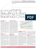Is Uncertainty Resulting in Bad Backhaul Choices Mobile World Congress 2011