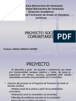 Induccion de Proyecto I