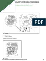 XSARA PICASSO - D4EG09P0 - Desmontagem - montagem _ Caixa de Serviços Inteligente (CSI)