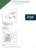 XSARA PICASSO - D4EG01P0 - Desmontagem - Montagem _ Caixa de Serviço Inteligente