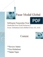pasar modal global