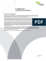 Comprehensive Embedded Security in Microwave Networks