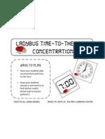 Ladybug Time Concentration