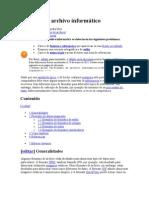 Formato de archivo informático