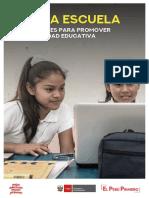 Alerta Escuela Orientaciones Para Promover La Continuidad Educativa