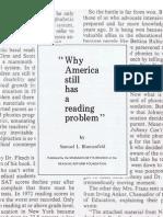 Why America Still Has a Reading Problem