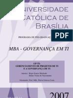 TCC - GP-TI - Gerenciamento de Projetos de TI e a Governança de TI