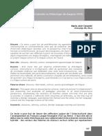 Langue-culture et identité en Didactique des langues (María José Coracini)