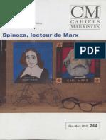 Spinoza lecteur de Marx