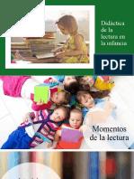 Tema 1.1 ¿Qué entendemos por didáctica de la lectura