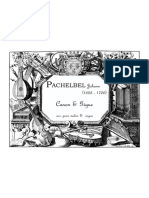 PACHELBEL Canon & Gigue (Arr. Vl & Org)
