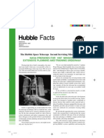 Hubble Facts the Hubble Space Telescope Second Servicing Mission (SM-2) NASA Prepares for 1997 Mission Extensive Planning and Training Underway
