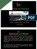 SX SERVICIO EXTREMO