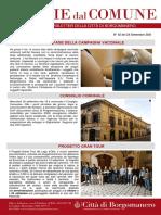 Notizie Dal Comune di Borgomanero del 24-09-2021