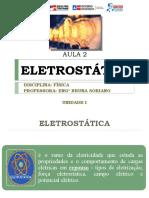 AULA 2 – ELETROSTÁTICA (3V)