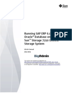 Runing Oracle Database on the Sun Storage 7210_sap_erp