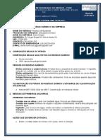 FDSR - Resíduo ambulatorial