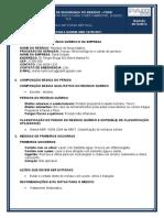 FDSR - Resíduo de fossa séptica